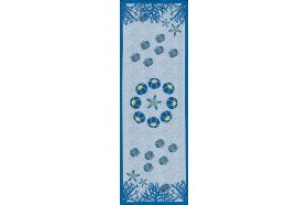 Aquarius Table Runner blue