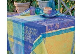 Mille Patios Coated Tablecloth