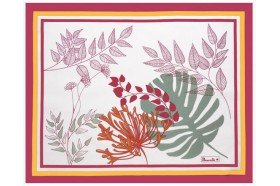 Agapanthes French Placemats Beauville