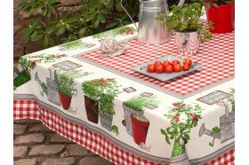 Potager Tablecloth by Beauvillé