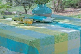 Mille Alcees Coated Tablecloth