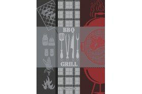 BBQ Grill Kitchen Towel