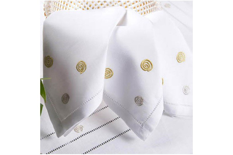 Tourbillon Embroidered Tablecloth · Tourbillon Embroidered Tablecloth