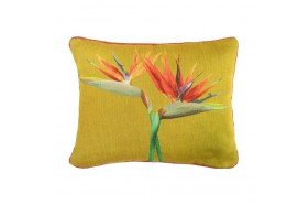 Birds of Paradise Duo Tapestry Pillow