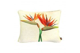 Birds of Paradise Duo 2 French Tapestry Pillow