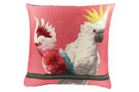 Cockatoo Exotic bird Luxury Tapestry Pillow