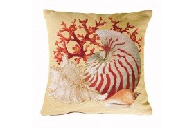 Tropical Fish French Tapestry Pillow