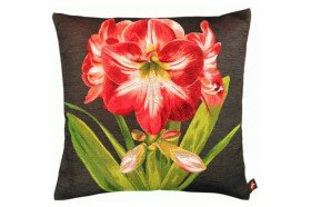 Red Amaryllis luxury Tapestry Pillow