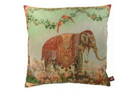 Asian Elephant luxury Tapestry Pillow