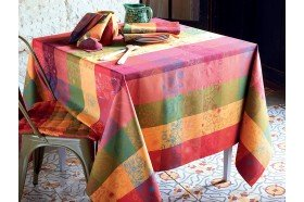 Mille Alcees Summer Coated Tablecloth