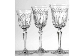 Florence French Luxury Crystal Glassware