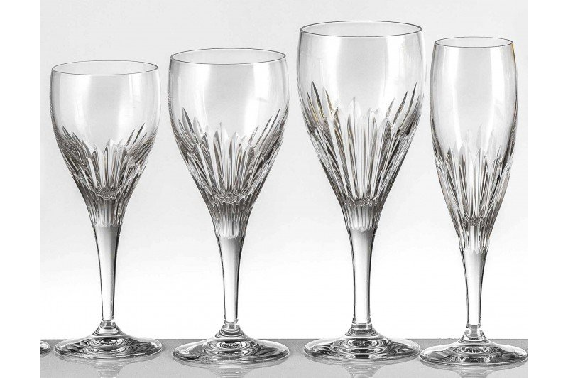 chartres crystal glassware collection