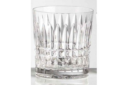 Set Of 6 Seville Luxury French Crystal Double Old Fashion