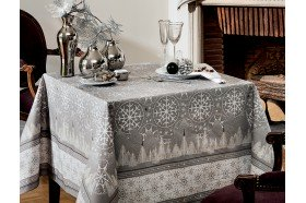 Megeve Christmas tablecloth by Beauvillé