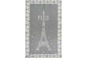 Paris Eiffel Tower French Tea Towel by Beauville