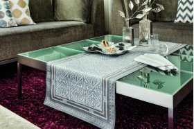 Victoria luxury French table runner by Beauvillé