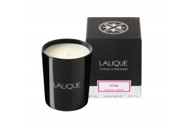 Lalique Rose luxury scented candles