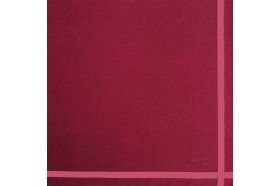 Two Color Napkin Raspberry