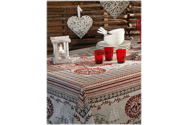 ... Cortina Christmas Winter Country French Tablecloths By Beauville ...