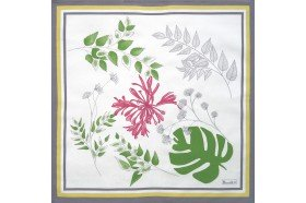Agapanthes French napkins by Beauville