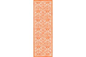 Saint Tropez Mandarin Orange Table Runner by Beauville
