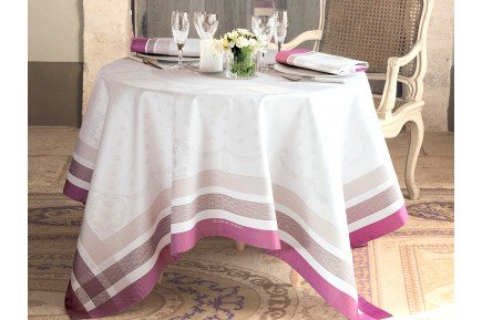 Abeilles Royales Royal Bees French luxury Tablecloth Garnier-Thiebaut