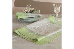 Eugenie French luxury Tablecloth Garnier-Thiebaut