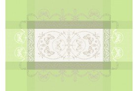 Eugenie French luxury placemats by Garnier-Thiebaut
