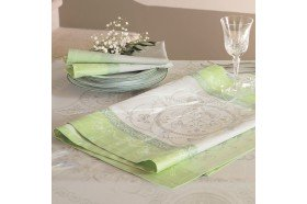 Eugenie French luxury table runners by Garnier-Thiebaut
