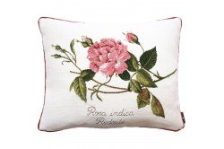 Rosa Indica luxury Tapestry decorative Pillow and Cushion by Art de Lys