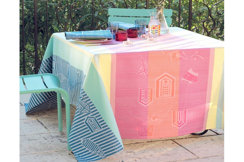 ... Mille Eole Marine French Table Runners By Garnier Thiebaut