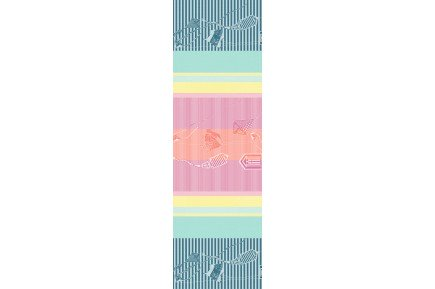 Mille Eole Marine French Table Runners By Garnier Thiebaut