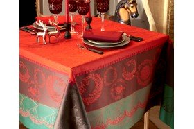 Christmas Forest Tablecloth