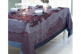 Paysage Prune Tablecloth