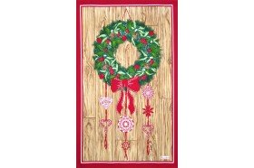 Holiday Jour de Fete French Tea Towel Christmas kitchen linen