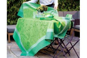 Champs de Ble Verdure Country French tablecloth by Garnier-Thiebaut