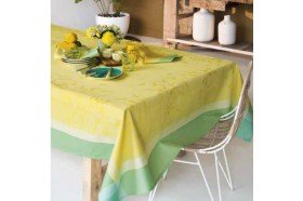 Champs de Ble Soleil Country French tablecloth by Garnier-Thiebaut