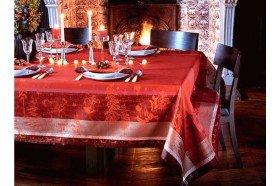 Chant de Noel tablecloth by Garnier-Thiebaut