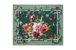 Arne Celadon Placemat French luxury table linens by Beauvillé