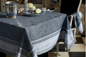 Persina Black Tablecloth