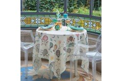 Montgolfieres Fantsay Tablecloth by Garnier-Thiebaut