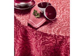 Saint Tropez Red French luxury Tablecloth by Beauville