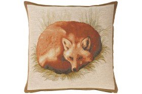 Fox Tapestry Pillow