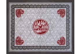 L'Hiver Winter Joy French Christmas Placemats by Beauville