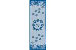 Aquarius Table Runner blue