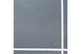 Two Color Napkin Grey
