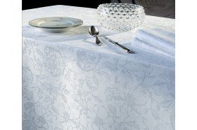 Mille Charmes  French damasked Tablecloth