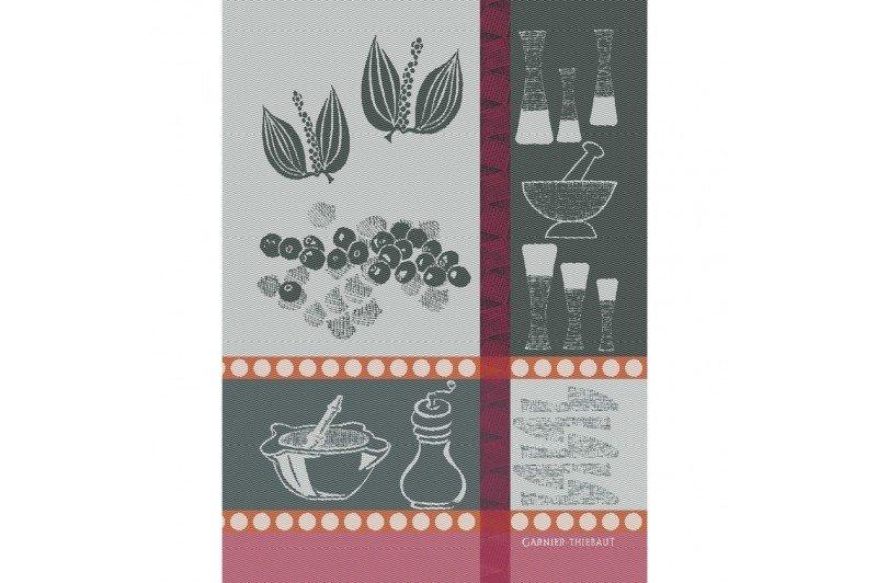 Peppercorn Kitchen Towel by Garnier