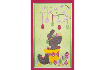 Easter Candies Tea Towel