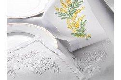 Prestige Embroidered tablecloth
